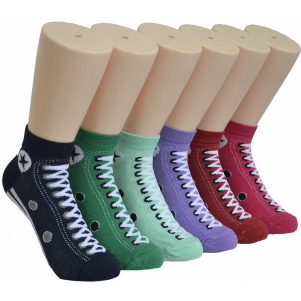 Ladies Lowcut Socks EBA-801
