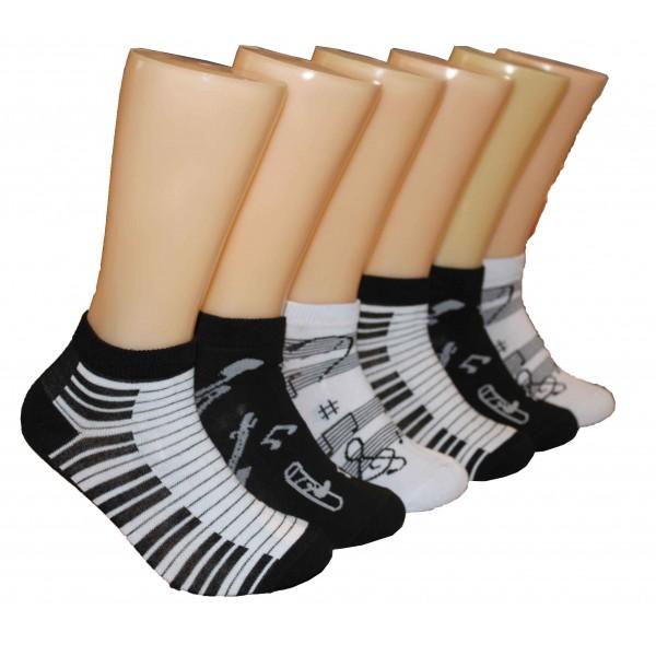 Ladies Lowcut Socks EBA-009 Single Pair/Pack