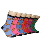 Ladies Crew Socks - EBC-6107