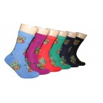 Ladies Crew Socks - EBC-6108