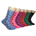 Ladies Crew Socks - EBC-6109