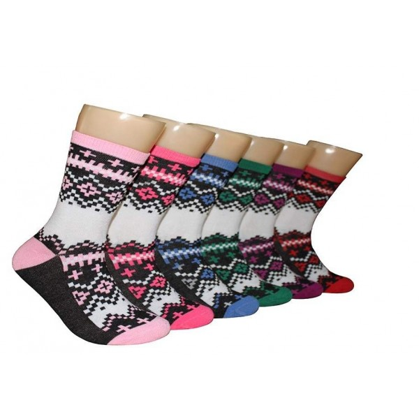 Ladies Crew Socks - EBC-6115