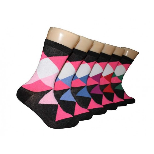 Ladies Crew Socks - EBC-6116