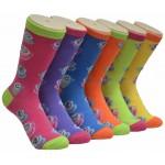 Ladies Crew Socks - EBC-8128