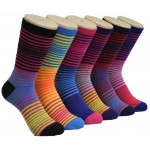 Ladies Crew socks EBC-8138