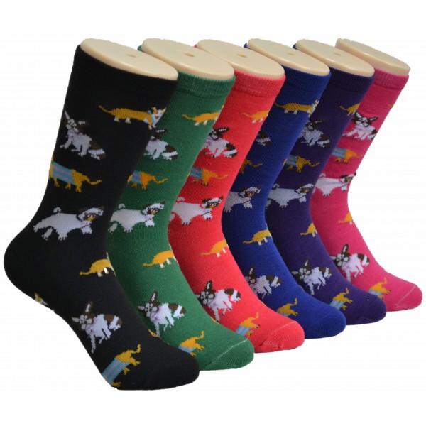 Ladies Crew socks EBC-8140