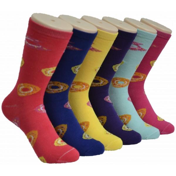 Ladies Crew socks EBC-8142