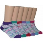 Girls' Low Cut  Socks ,EKAG-6129