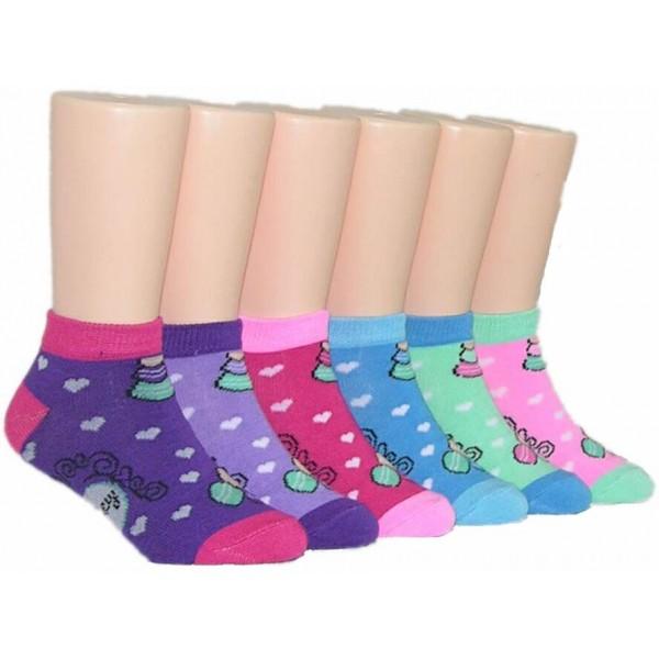 Girls' Low Cut  Socks ,EKAG-6130