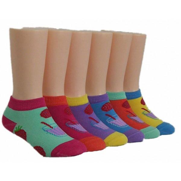 Girls' Low Cut  Socks ,EKAG-6132