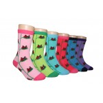 Girls' Crew Socks ,EKCG-6136