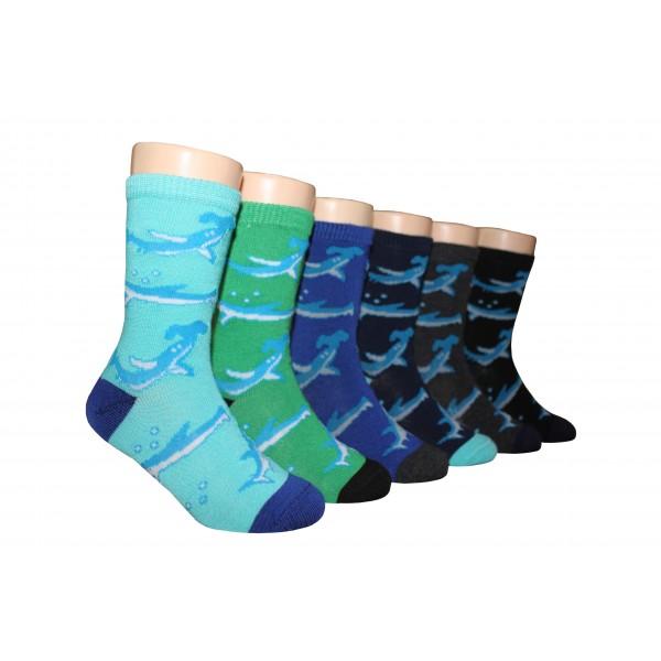 Boys' Crew Socks ,EKCB-6228