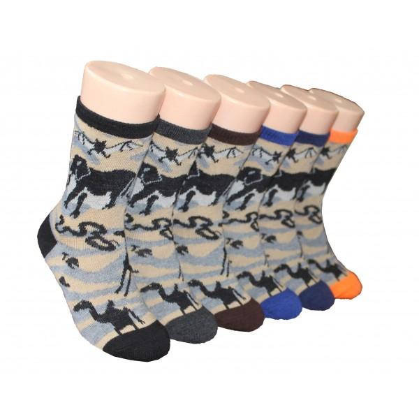 Boys' Crew Socks ,EKCB-6231