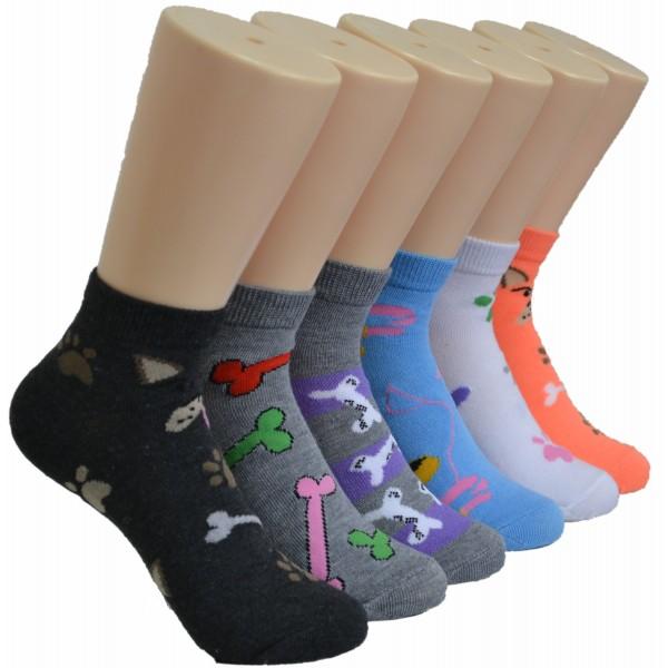 Ladies Lowcut Socks EBA-9104