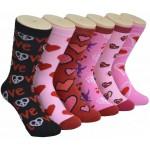 Ladies Crew Socks - EBC-007-NEW