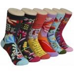 Ladies Crew Socks - EBC-0162