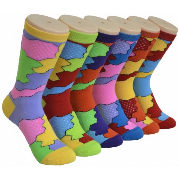 Ladies Crew Socks - EBC-0189