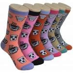 Ladies Crew Socks - EBC-0190