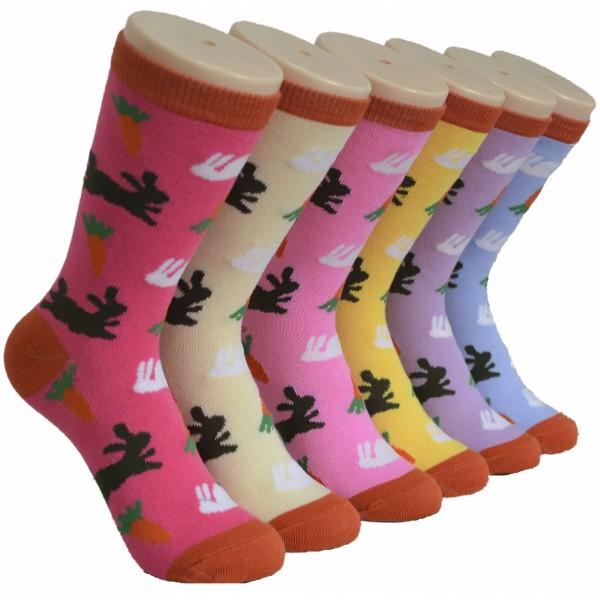 Ladies Crew Socks - EBC-0193