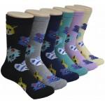 Ladies Crew Socks - EBC-0195
