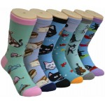 Ladies Crew Socks - EBC-9161