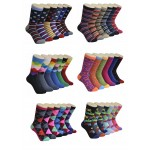 Ladies Crew Socks - EBC-0145-new