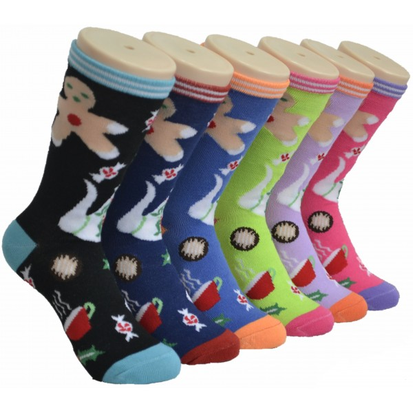 Ladies Crew Socks - EBC-0173