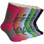 Ladies Fluffy Cozy Socks EBF-04