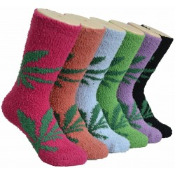 Ladies Fluffy Cozy Socks (5)