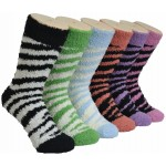 Ladies Fluffy Cozy Socks EBF-05