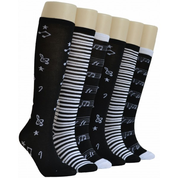 Ladies Knee-high Socks - EBK-813
