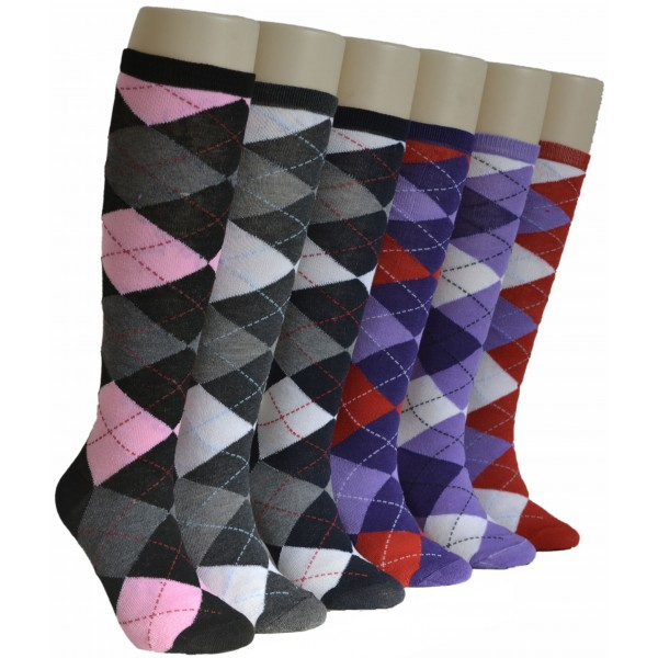 Ladies Knee-high Socks - EBK-020