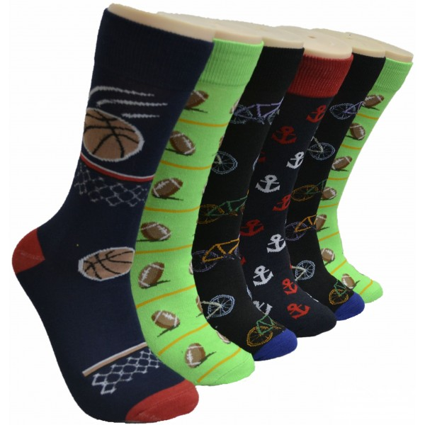 Men's Novelty Socks - EBM-923