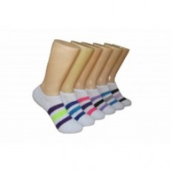 Ladies Invisible socks with cushion (8)