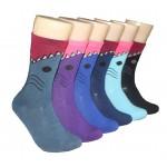Ladies Crew Socks - EBC-631