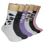 Ladies Crew Socks - EBC-636