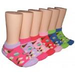 Girls' Low Cut  Socks ,EKAG-6120