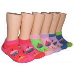 Girls' Low Cut  Socks ,EKAG-6121