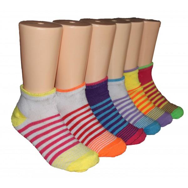 Girls' Low Cut  Socks ,EKAG-6124
