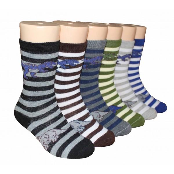 Boys' Crew Socks ,EKCB-6223